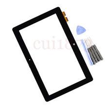 Envío gratis código de seguimiento digitalizador cristal de la pantalla para ASUS VivoTab inteligente ME400 ME400C K0X 5268NB Rev : 2 FPC-2