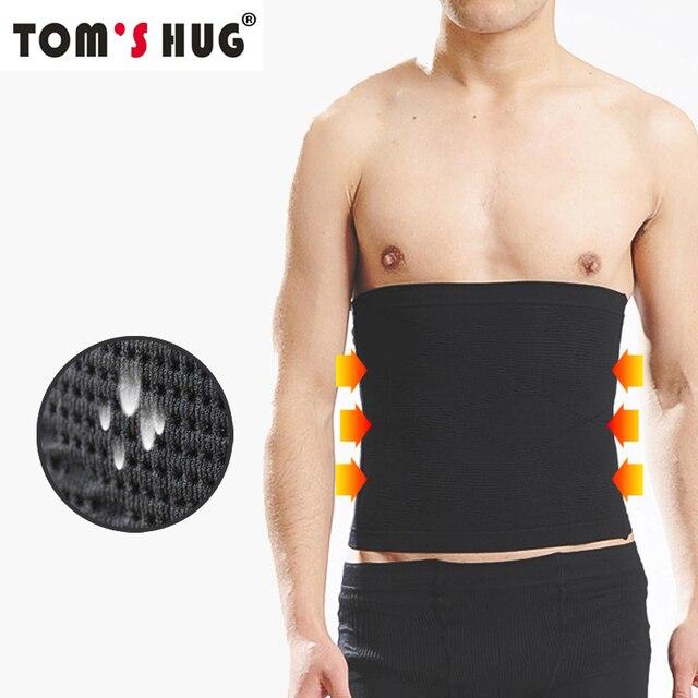 Waist Slimmer Support Brace Lose Weight Body Shaper Trainer Tom's Hug Breathable Slimming Belt Tummy Trimmer Sport Waist Support