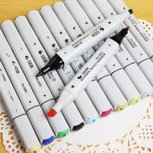 Лучшие STA 6801 12 Цветов Двусторонняя постоянный Книги по искусству маркеры с прекрасно пуля и зубила Пойнт советы-рисовать, эскиз, иллюстрации, манга