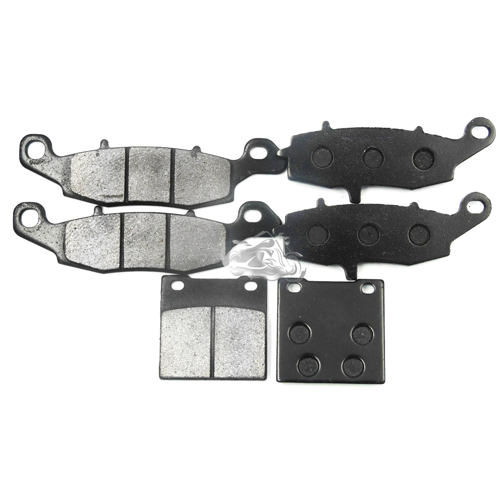 AHL Motorcycle Front & Rear Brake Pads For Suzuki GSF400