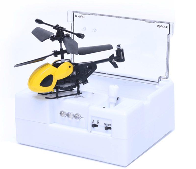 Mini radio de contrôle 2CH rc hélicoptère avec la boîte contrôleur