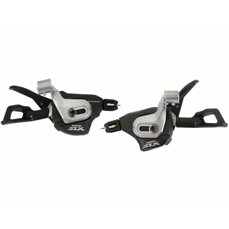 <font><b>shimano</b></font> <font><b>SLX</b></font> 2/3x11-speed Shift Lever Set SL-<font><b>M7000</b></font> I-Spec II image