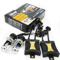 55W Slim AC HID Xenon Headlight Conversion KIT Bulbs BI XENON H4 Hilo H1 H3 H7