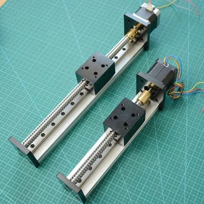 Nema17 ball screw n linear rail equipt 17N1204-100 linear guides electrolux eeq 20 x equipt