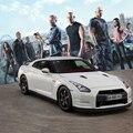 GTR суперкар 1:24 Сплава раздвижные модели автомобилей, Diecasts автомобилей, Высокое качество Металла Модель Автомобиля Бесплатная Доставка