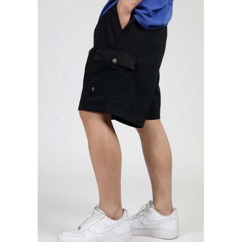 Plus Size XL -6 XL (133cm) Waist, Big Yards Mens Beach Tide Men Shorts 5 Minutes Casual Short Trousers