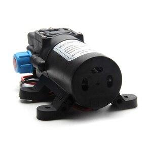 Image 2 - 5.5L/Min DC12V 80W 0142 Motor Hochdruck Membran Wasser Selbst Pumpe Drop Schiff