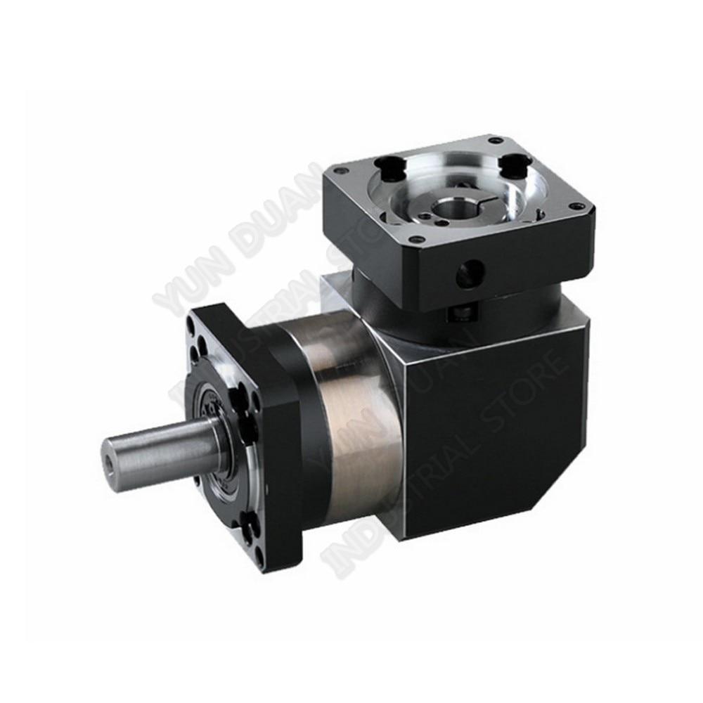 16 :1 Corner Right Angled Planetary Reducer Gearbox 90 Degree Reversing  Reducer for NEMA24 60mm 200W 400W 600W Servo Motor