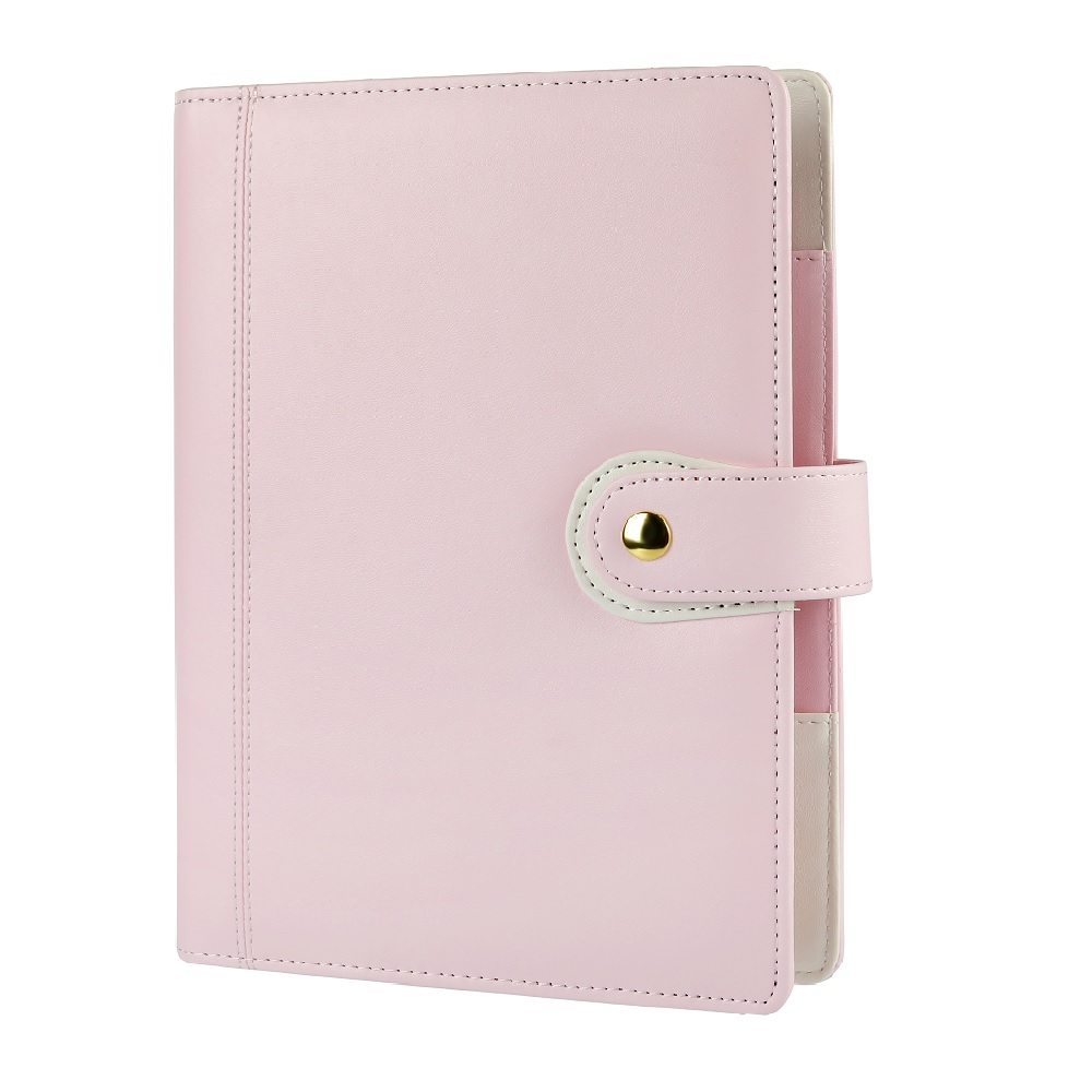 Harphia zipper planner A5 travel journals loose leaf spiral notebook 2018-2019 Macaron planner binder diary agenda organizer harphia 2018 2019 smart reusable binder a5 b5 flamingo notebook cat notepad diary planner with colorful divider organizer