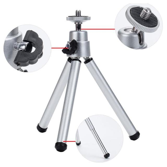 Flash Promo Professional Adjustable Portable Mobile Phone Mini Projector DV Digital SLR Camera Stand Tripod Flexible Mount Holder Phones