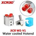 Запчасти для 3D-принтера hotend XCR WS-V1 одноцветная печатающая головка с водяным охлаждением и силиконовым Экструдером Комплект носков 1 75/0 4 мм
