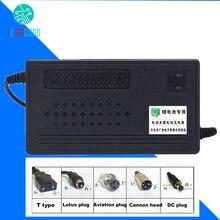 Chargeur de batterie 48V ebike Li ion LiPo Lifepo4 Lithium fer Phosphate 1,8a 2A 3A 4A 5A 13S 14S 15S 16S chargeur de vélo électrique en polymère