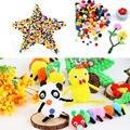 Atacado 1000 Pçs/lote Assorted 10mm Cor Misturada Pom Poms Pompons Fofo Macio Crianças DIY Craft