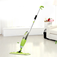 Water Spray Plate Wet Mop Swob Free Hand Wash for House Kitchen Hardwood Tile Floor Cleaning Sweep