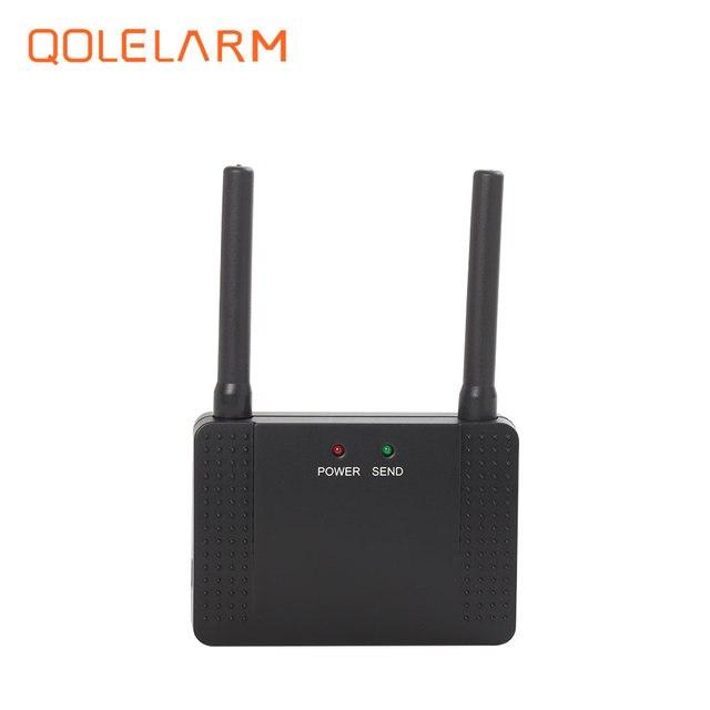 433 Mhz báo động Không Dây lặp tín hiệu truyền tải và tăng cường tín hiệu của cảm biến báo mở rộng cho chúng ta hệ thống báo động