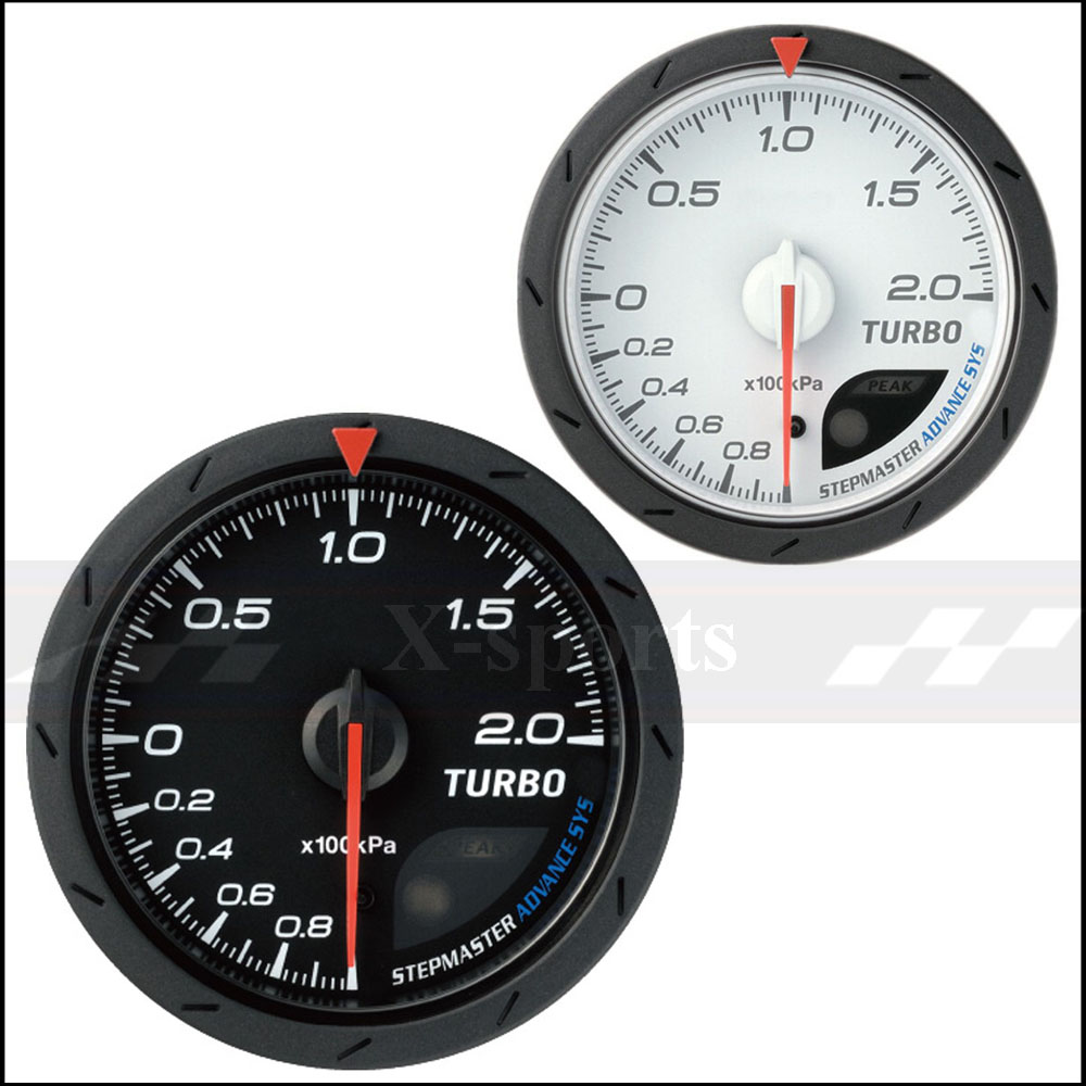 BOOST Gauge Advance DEFI CR Universal Car Instrument 2.5 Inch 60mm TURBO Gauge 200kPa Type  Light Color White RedFree ShippingBOOST Gauge Advance DEFI CR Universal Car Instrument 2.5 Inch 60mm TURBO Gauge 200kPa Type  Light Color White RedFree Shipping