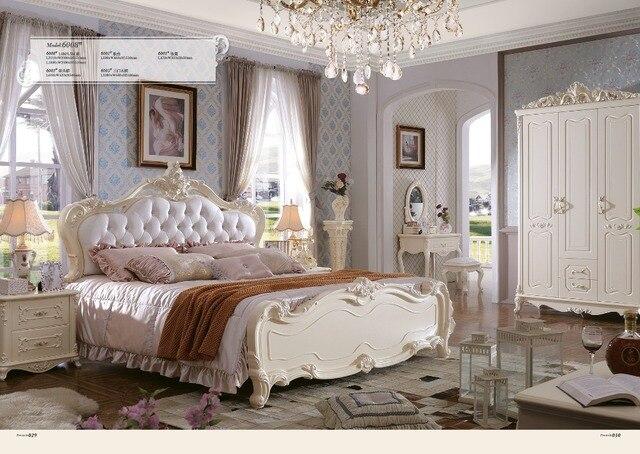 Muebles de madera camera da letto set haiti! mobili king size letto
