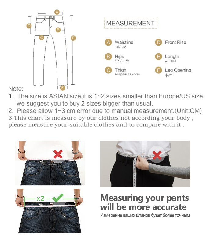 Autumn Winter Men's Jeans Business Casual Stretch Slim Denim Jeans Light Blue Black Trousers Male Brand Pants Plus Size 28-40