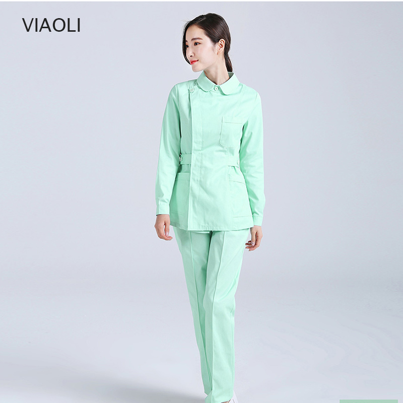 Medical Scrub Sets Hospital Surgical Clothing Sets Doctors Nurse Uniform Dental Clinic Workwwear Clothes Lab Gown Fashion Design