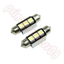1X36mm 3 LEVOU 5050 SMD 6418 CANBUS Livre de Erros Dome Car Lâmpada de Luz Branca
