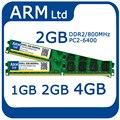 Марка 1 ГБ 2 ГБ 4 ГБ PC2-6400 DDR2 800 МГЦ 667 МГЦ 5300 sodimm Memoria RAM для Настольных Памяти быстрая доставка