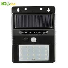 LED Solar light Bulb Outdoor Garden lamp Decoration PIR Motion Sensor Night Security Wall light IP65 Waterproof недорого