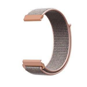 Image 5 - Nylon Loop Woven Strap For Garmin vivoactive3 HR Smart Watch Wearable Wrist Bracelet For Garmin Forerunner 645 music Watchband