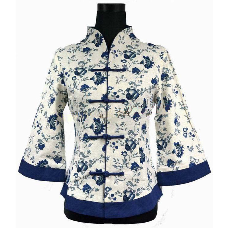 Chinese Blouse Pattern To Sew White Frilly Blouses