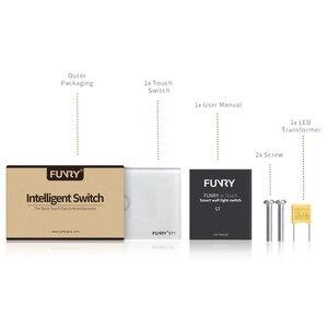 Image 5 - ST1 Funry Sensör Dokunmatik Anahtarı 1 Gang ABD Standart Cam Dokunmatik Anahtarı 110 240 V Işık Sensörü Su Geçirmez Anahtarı duvar Işık Anahtarı
