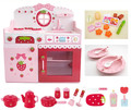 New Arrival Baby Toys Colourful Deluxe Pretend Play Kitchen Set Children Play House Wooden Toys Birthday gift Toys