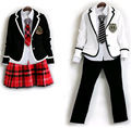 5 Pcs Long Sleeved Children's School Uniform Clothing  Girls and Boys  British Style Winter Clothing for School Uniforms