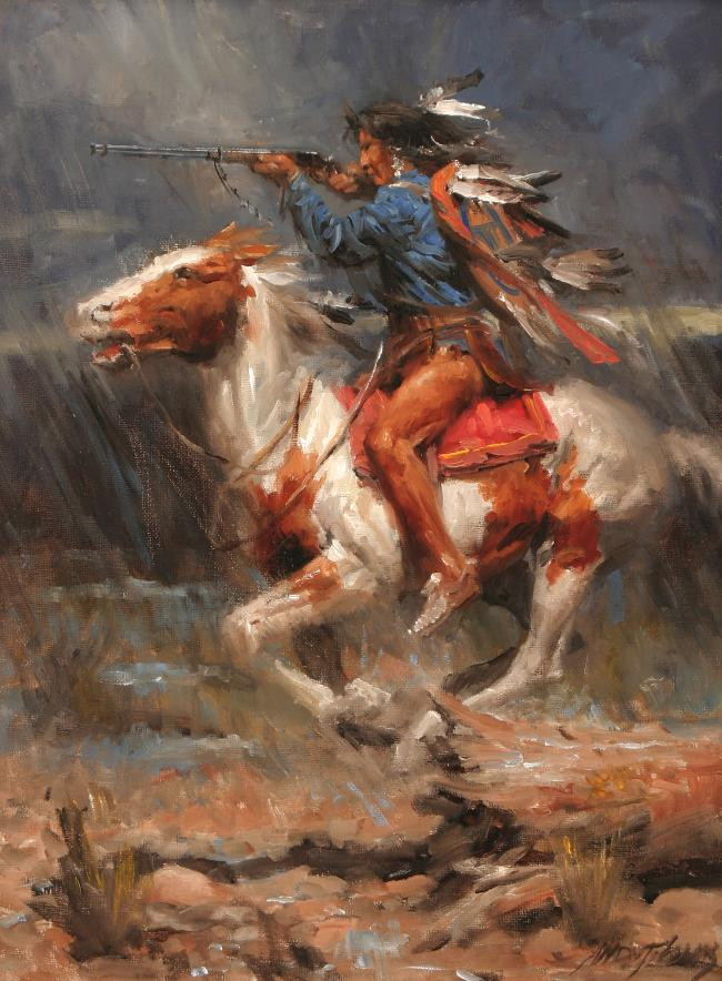 Popular american indian painting buy cheap american indian for Oil paintings for the home