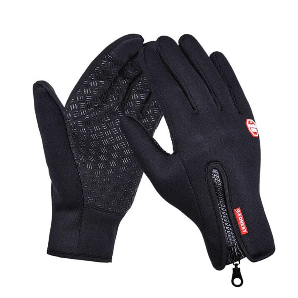 Winter Women Men Ski Gloves Motorcycle Riding Waterproof Snow Windstopper Camping Leisure Mittens Snowboard Gloves