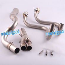 Stainless Steel Exhaust Downpipes Headers Pipe For Kawasaki Ninja 300 2013 2014 2015