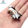 Portable Folding Mini Camping Stove Outdoor Gas Stove Survival Furnace Stove 45g 3000W Pocket Picnic Cooking Gas Burner