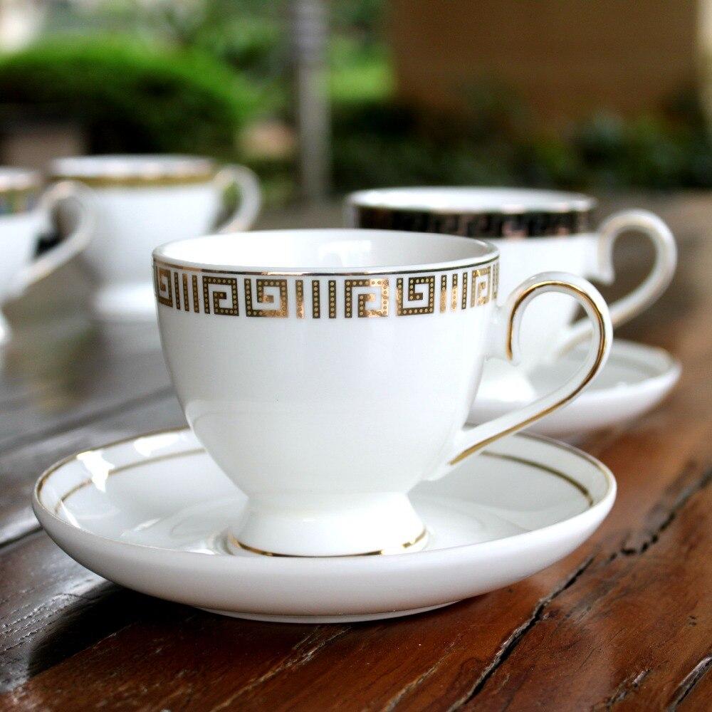 6 conjunto de seis Pollos Gallinas Porcelana Fina Tazas Tazas Vasos