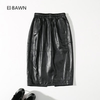 2018 New Spring skirts women black Straigh leather plus size skirts slim high waist pencil shirt Korean Style streetwear fashion