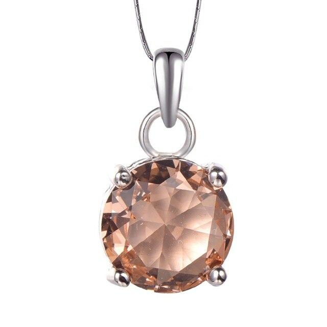 Morganite pendentif 925 en argent Sterling livraison gratuite nouvelle mode attrayant bijoux pendentif PP25