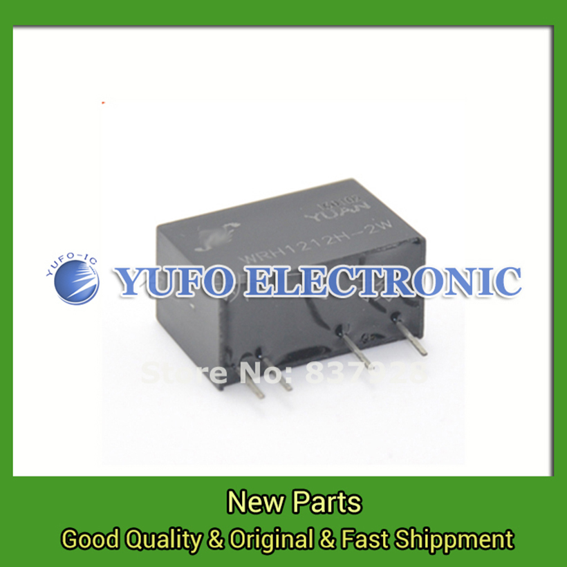 Free Shipping 2PCS Agent WRH1212H-2W DC-DC power rail isolation amplifier data acquisition YF0617 relay