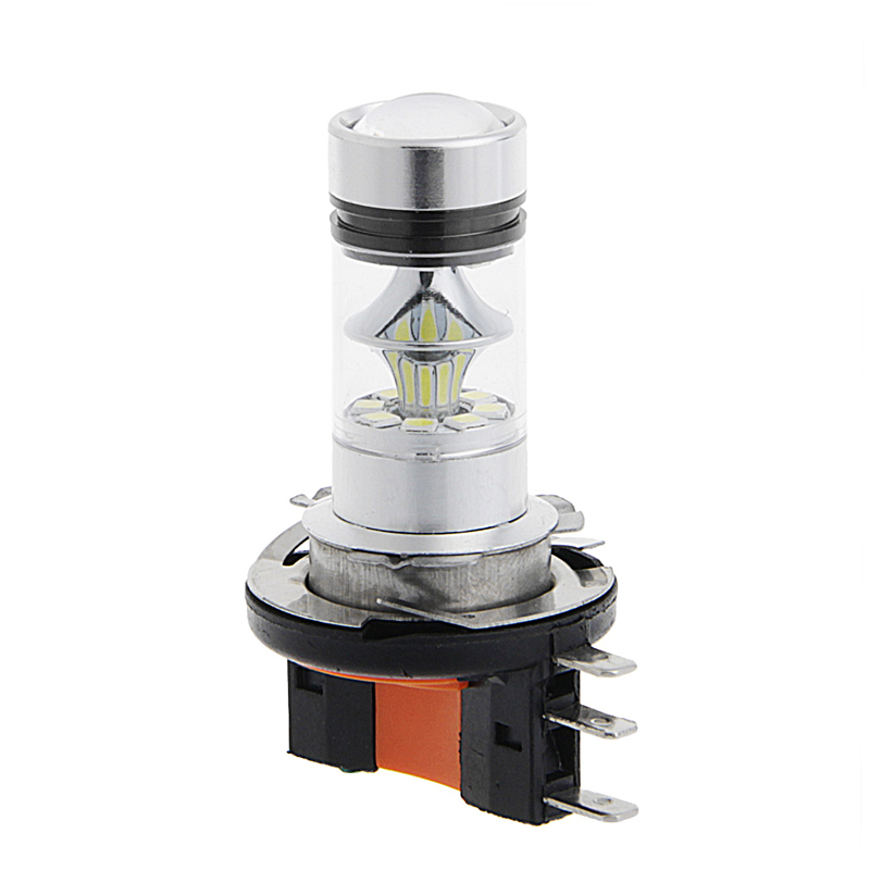 HNGCHOIGE <font><b>H15</b></font> 100W 2323 SMD <font><b>LED</b></font> Car Fog Light Driving DRL Bulb Brake Stop Lamp Headlight