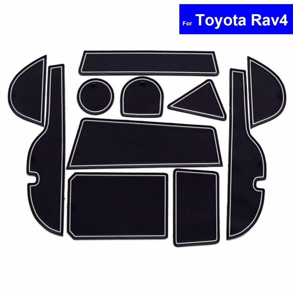 KSTE Estilo de Fibra de Carbono ABS Posterior Salida de Aire de Salida de la Cubierta Decorativa del Ajuste Compatible with los RAV4 2019