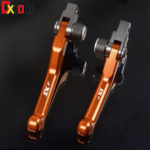 For KTM 450SX 450SX-F 450SX-R 450 SX F R 2009 2010 2011 2012 Motocross CNC Pivot Brake Clutch Levers Dirt Bike Orange for ktm 450sx 450sx f 450sx r 450 sx f r 2009 2010 2011 2012 motocross cnc pivot brake clutch levers dirt bike orange