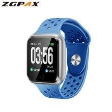 ZGPAX S226B smart watches watch IP67 Waterproof 30 meters waterproof 15 days long standby Heart rate Blood pressure Smartwatch цены