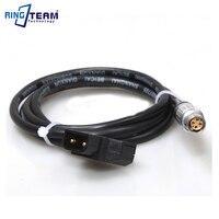 5Pcs 100CM Red Shadow Camcorder Power Signal Cable EPIC LEMO FGJ 1B 306 (4 + 2), EPIC 12V DC power plugs D TAP B type Plug Turn