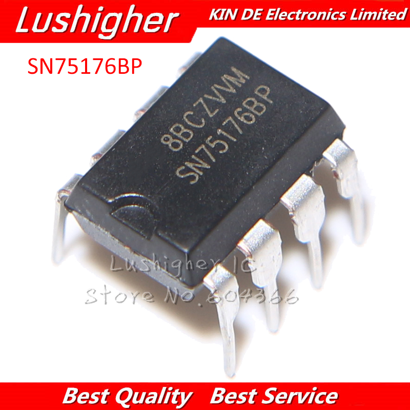 10PCS SN75176BP DIP8 SN75176 SN75176B DIP 75176 IC New Original