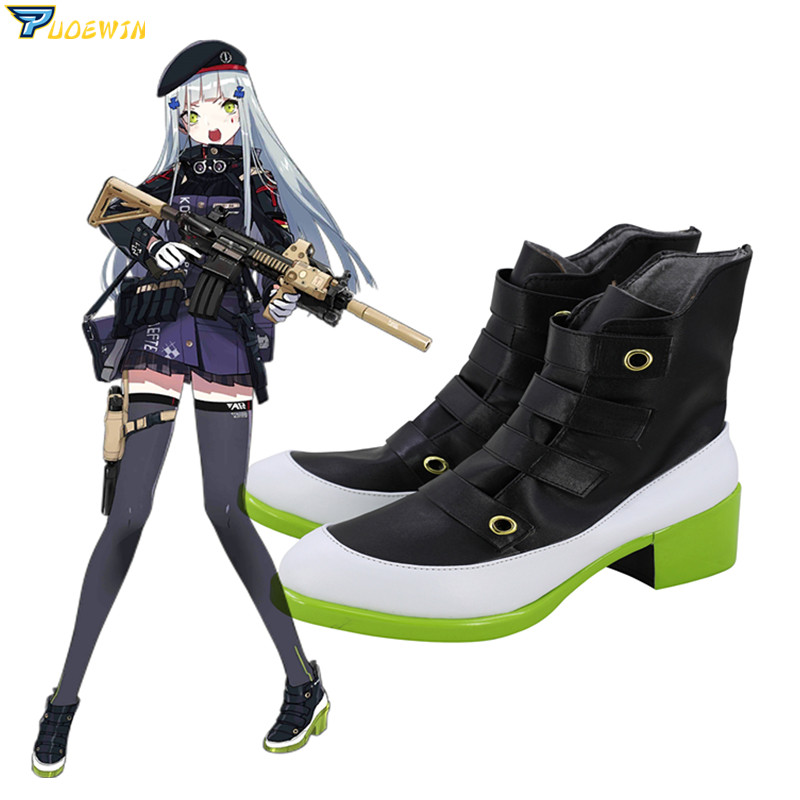 Game Girls Frontline HK416 Cosplay Shoes Boots