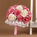 Roses Bouquet wedding accessories Artifical Wedding flowers Bride Bouquet Hand Flower Bridesmaid Wedding Bouquet