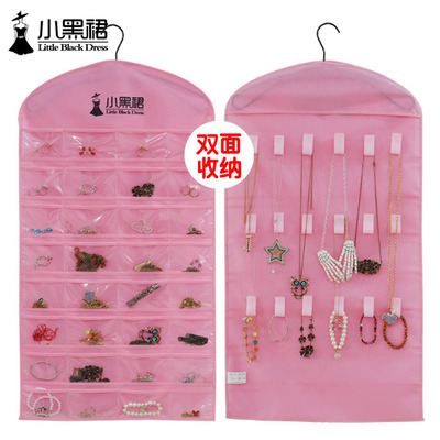 Fashion Creative Hair Accessory and Jewerly Hanging Storage Pockets