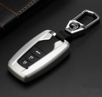 High Quality Car Aluminium Alloy Key Holder Cover Bag Shell Pocket For Toyota Camry Corolla C