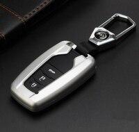 High Quality Car Aluminium Alloy Key Holder Cover Bag Shell Pocket For Toyota Camry Corolla C